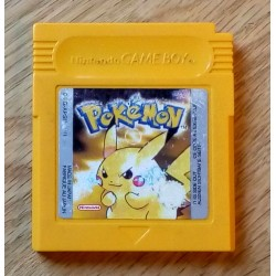 GameBoy: Pokemon (cartridge)