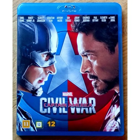 Captain America - Civil War (Marvel) (Blu-ray)