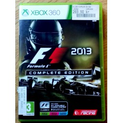 Xbox 360: F1 2013 - Formula 1 Complete Edition (Codemasters Racing)