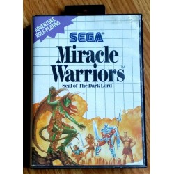 SEGA Master System: Miracle Warriors - Seal of The Dark Lord