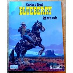 Blueberry album nr. 22 - Ved veis ende (1. opplag)