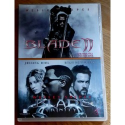 Blade II og Blade Trinity (DVD)