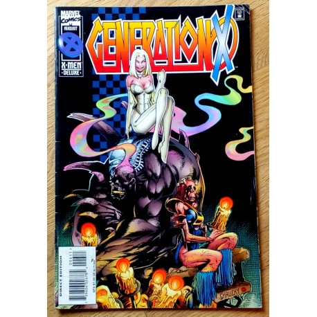 Generation X - 1995 - No. 6 - Notes from the Underground (Marvel)