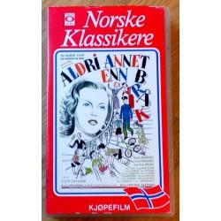 Norske Klassikere - Aldri annet enn bråk (VHS)