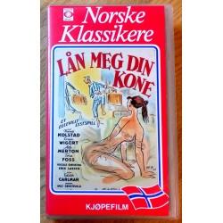Norske Klassikere - Lån meg din kone (VHS)