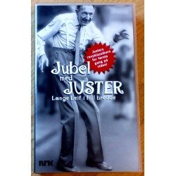 Jubel med Juster - Lange Leif i full bredde (VHS)