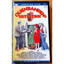 Olsenbanden: Nr. 14 - Olsenbandens siste stikk (VHS)
