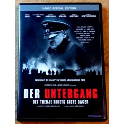 Der Untergang - Det Tredje Rikets siste dager (DVD)