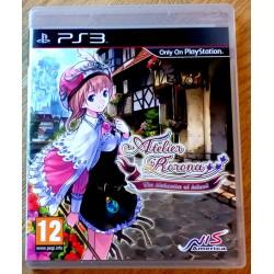 Playstation 3: Atelier Rorona - The Alchemist of Arland