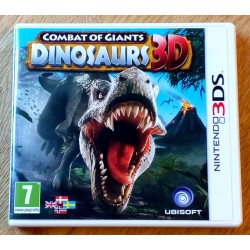 Nintendo 3DS: Combat of Giants - Dinosaurs 3D (Ubisoft)