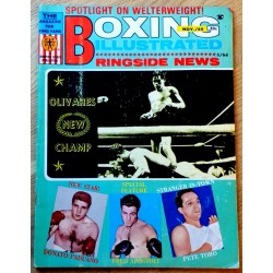Boxing Illustrated - 1969 - November - Olivares New Champ