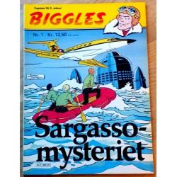 Biggles: Nr. 1 - Sargasso-mysteriet