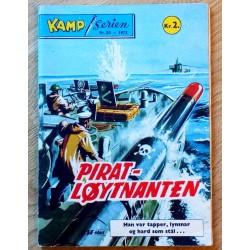 Kamp-Serien: 1972 - Nr. 52 - Pirat-løytnanten