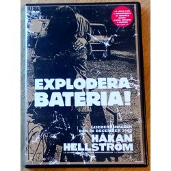 Håkan Hellström Live - Lisebergshallen den 20 december 2002 - Explodera Bateria Turnen (DVD)
