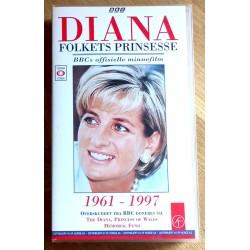 Diana - Folkets prinsesse - BBCs offisielle minnefilm (VHS)