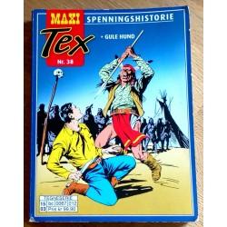 Maxi Tex - Nr. 38 - Gule Hund