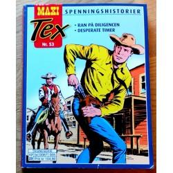 Maxi Tex - Nr. 53 - Ran på diligencen