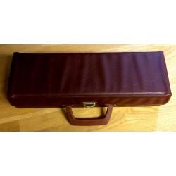 Kassettkoffert - Brun - Med plass til 16 kassetter