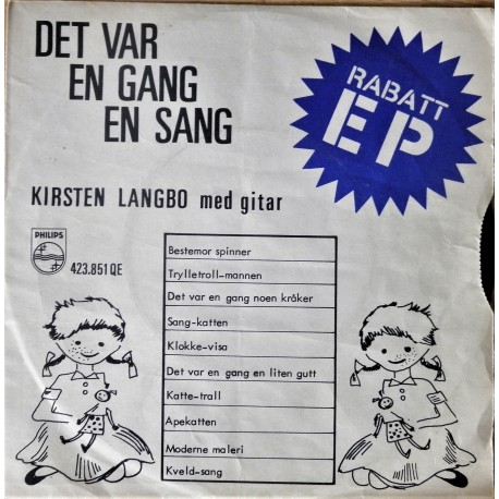 Kirsten Langbo- Det var en gang en sang (EP)