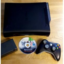 Xbox 360 Elite: Konsoll med spill og 120 GB HD