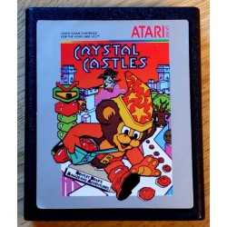 Atari 2600: Crystal Castles (cartridge)