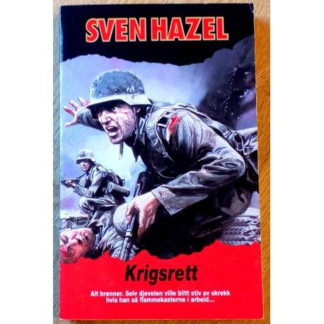 Sven Hazel: Krigsrett
