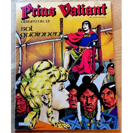 Prins Valiant: Nr. 13 - Solgudinnen (1978)