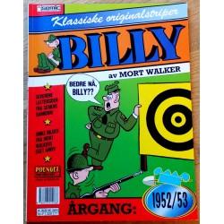 Billy - Klassiske originalstriper - Årgang 1952-1953