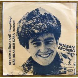 Robban Broberg- Det som göms i snö- 1968