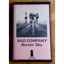 Bad Company: Burnin' Sky (kassett)