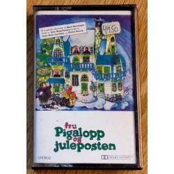 Fru Pigalopp og juleposten (kassett)