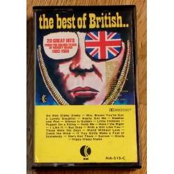The Best of British.. - 20 Great Hits 1962-1968 (kassett)