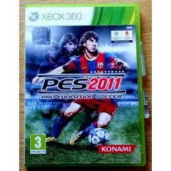 Xbox 360: PES 2011 - Pro Evolution Soccer (Konami)