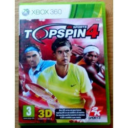 Xbox 360: Topspin 4 (2k Sports)