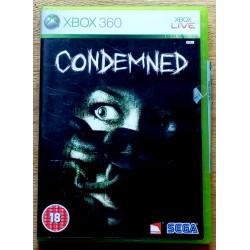 Xbox 360: Condemned (SEGA)