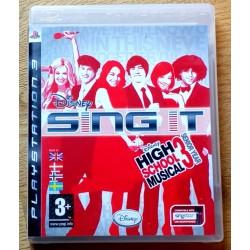 Playstation 3: Sing It - High School Musical 3 Senior Year (Disney)