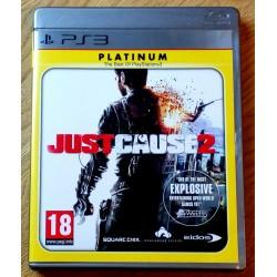 Playstation 3: Just Cause 2 - Platinum (Eidos)