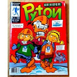 Pyton: 1994 - Nr. 2 - Maskoter er helt Pyton