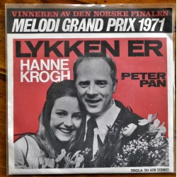 Hanne Krogh- Lykken er- Grand Prix 1971