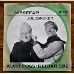 Kurt Foss- Reidar Bøe- Nissefar