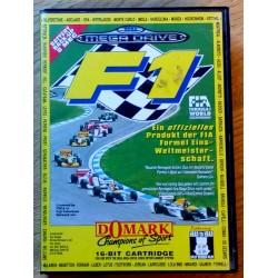 SEGA Mega Drive: F1 (Domark)