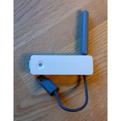 how to hook up xbox 360 wireless network adapter