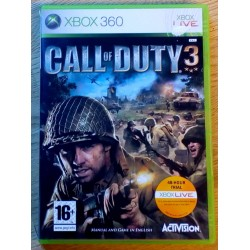 Xbox 360: Call of Duty 3 (Activision)