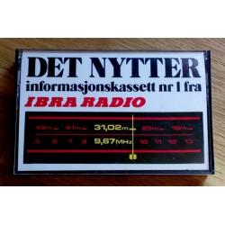 Det nytter - Informasjonskassett nr 1 fra IBRA Radio (kassett)