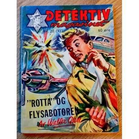 Detektivmagasinet: Nr. 20 - 922 - 13. mai 1959
