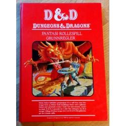 Dungeons & Dragons - Fantasi rollespill - Grunnregler