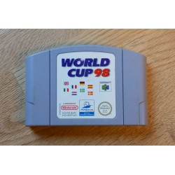 Nintendo 64: World Cup 98 (cartridge)