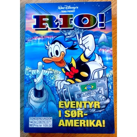 Walt Disney's Tema Pocket - Rio!
