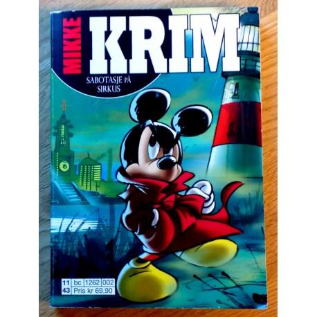 Mikke Krim: Nr. 2 - Sabotasje på sirkus