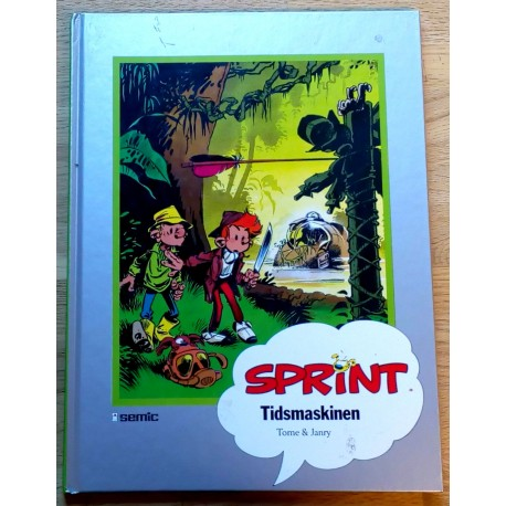 Seriesamlerklubben: Sprint - Tidsmaskinen (1993)